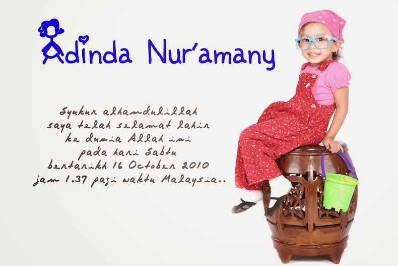 adinda nur'amany