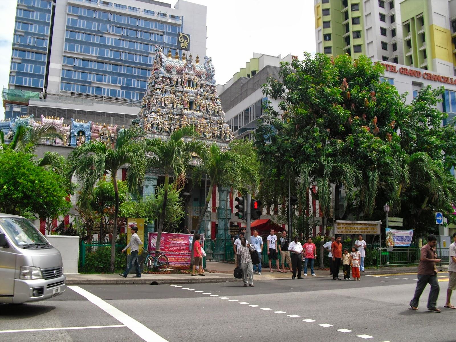 singapur, singapore barrio indio