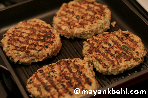 chicken-burger-patties recipe