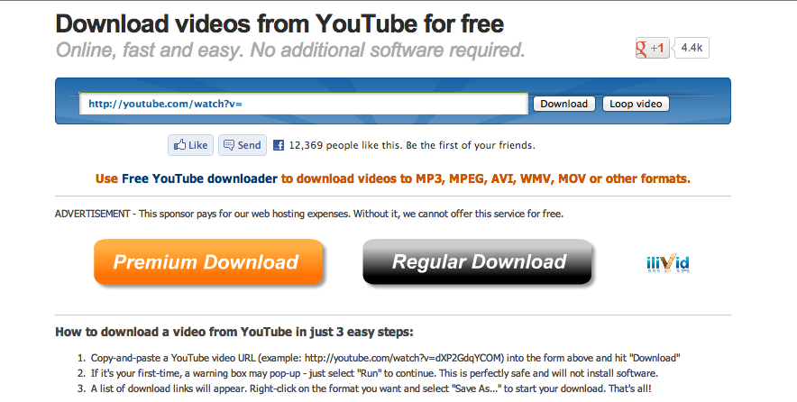 how to download a youtube video on laptop