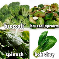 sayuran tinggi zat besi