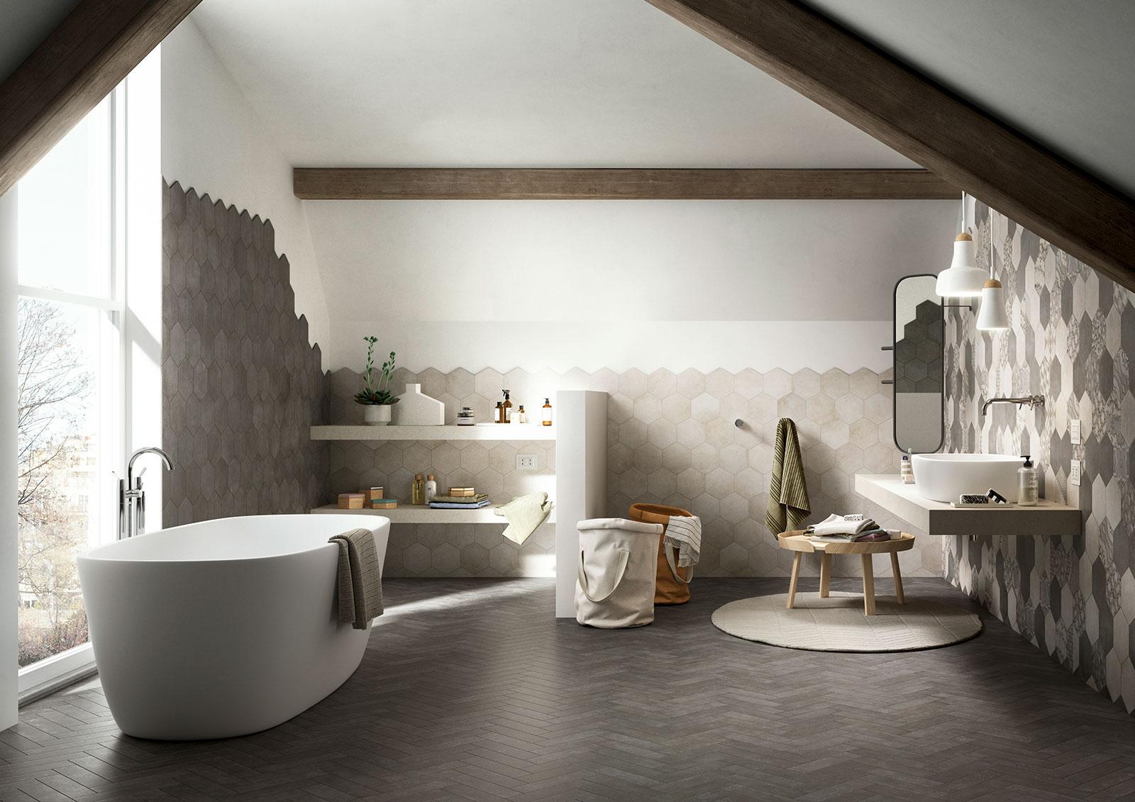 Piastrelle Per Bagno Effetto Mosaico : Piastrelle bagni immagini ...