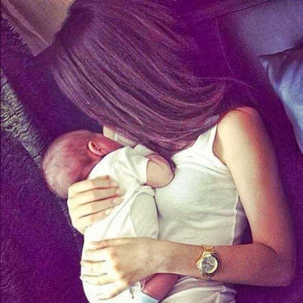 Фото ава девушка с ребенком