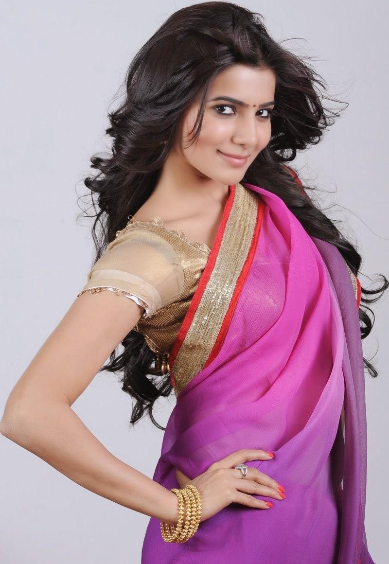 actress hd gallery: samantha cute saree hd hot photo galleryz