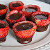 Chocolate Covered Strawberry Shot Glasses