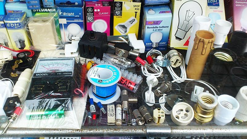 electricidad,bombillas,comercio,Ibarrekolanda,Lamas