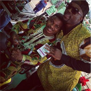 Iyanya, Ayefele Sing For Jonathan 2015 Re-Election.