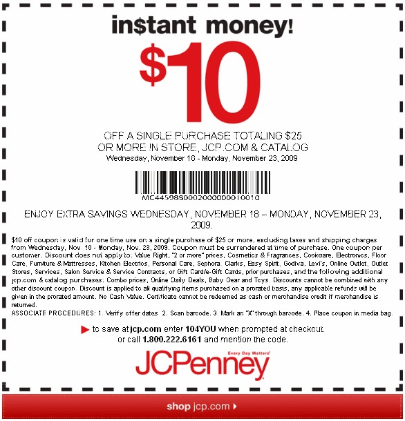 JCPenney is one of the most popular department stores in the world and is dedicated to offering the lowest everyday prices and coupons to make great deals even better. Save on furniture, clothing, bed & bath, shoes, gifts and more.
