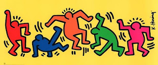 Karya Keith Haring, Graffiti