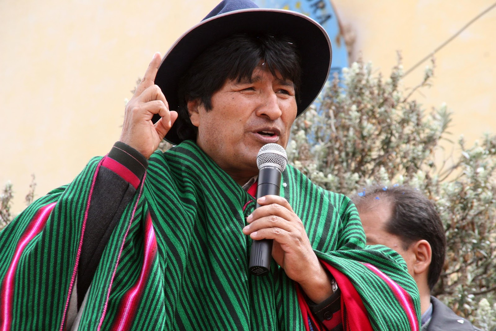 Evo Morales, Hijo Ilustre de Venezuela