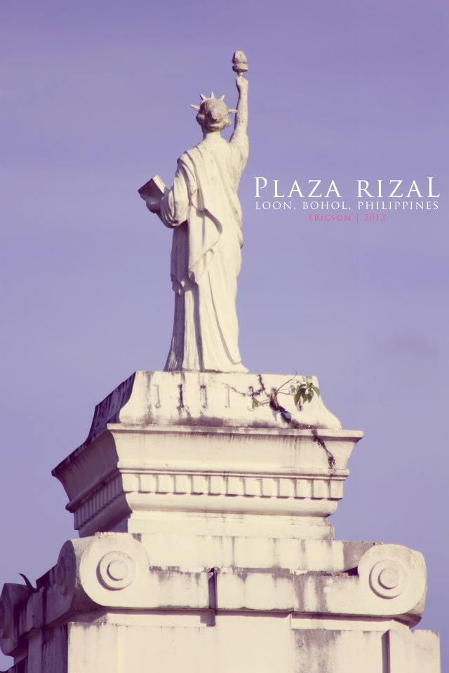 Plaza Rizal, Loon, Bohol