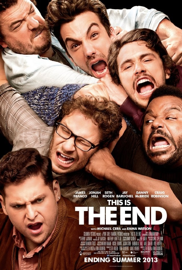 La película This Is the End ( Juerga hasta el fin )