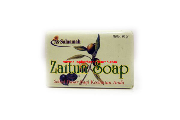 Sabun Herbal Zaitun Batangan Assalamah