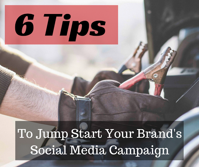 6 Tips To Jump Start Your Brand's Social Media Campaign | Bullet Point Branding