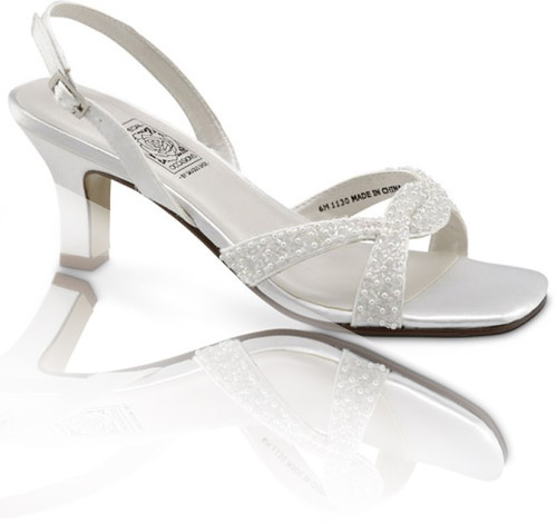 Wide width bridal shoes all about bridal house bridal for Wide width dress shoes for wedding