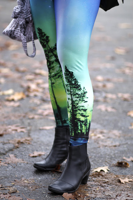 Black Milk Aurora Skye Leggings Seattle Street Style Fashion