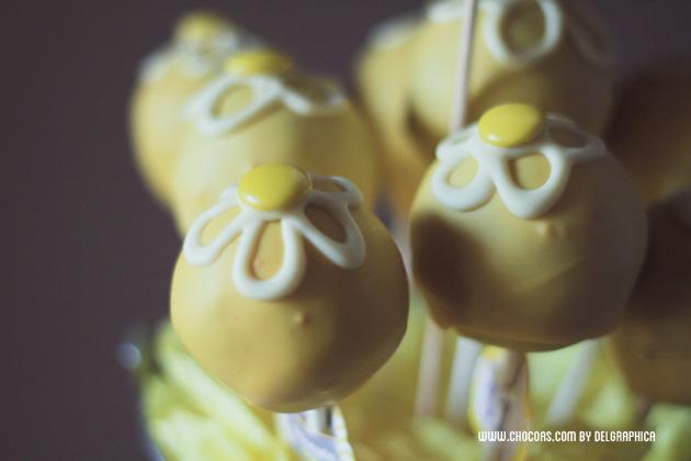 Regalo del día de la madre - ramillete de cakepops