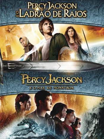 Duologia Percy Jackson Torrent – BluRay 720p/1080p Dual Áudio (2010-2013)