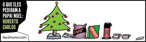 Tirinhas: Pedidos a Papai Noel