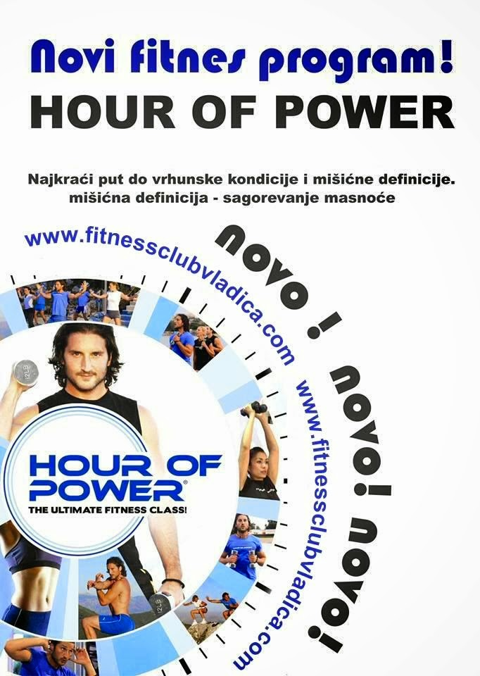 Hour of Power u Ladies Fitness Clubu Vladica