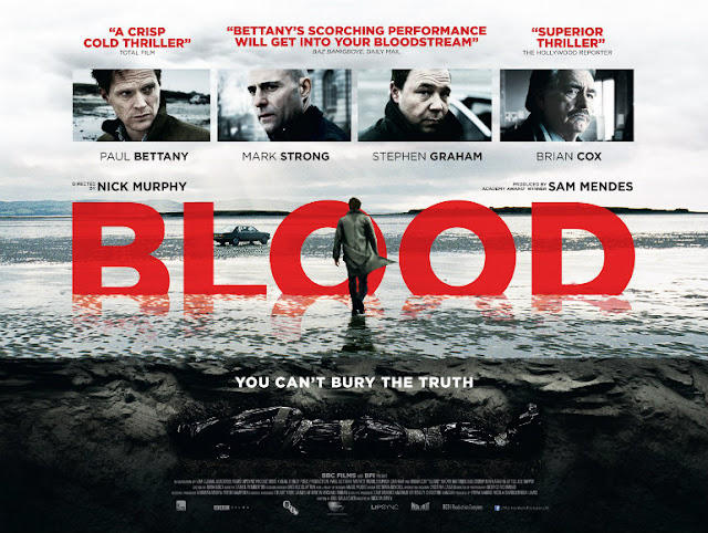 Blood poster with Paul Bettany and Mark Strong