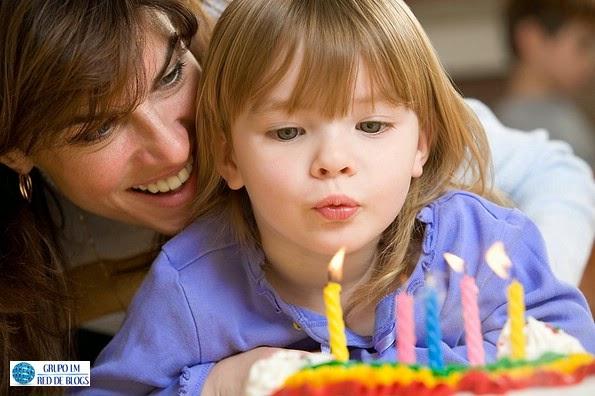 El festejo del cumpleaños en los niños