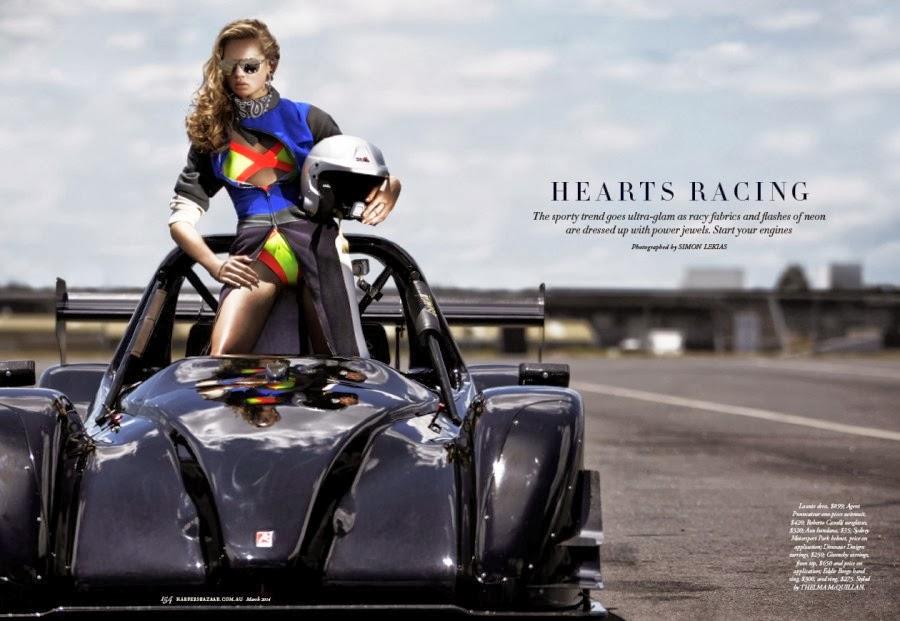 Holly Rose HQ Pictures Harper's Bazaar Australia Magazine Photoshoot March 2014