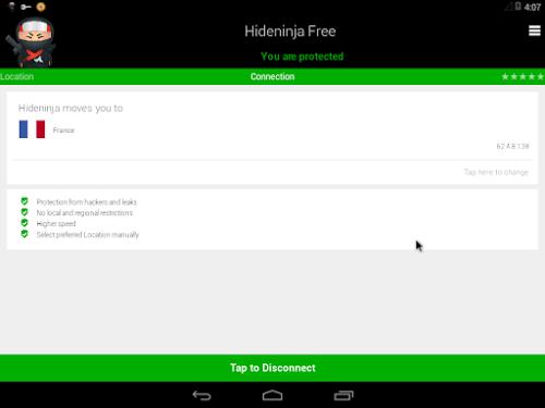 VPN Hideninja Pro APK V1.3.1 full Download free