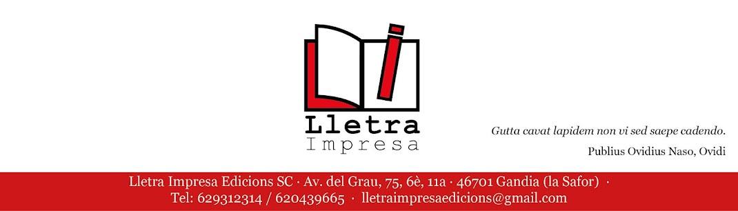 Lletra Impresa Edicions
