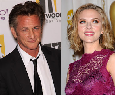 scarlett johansson sean penn foot. Sean Penn And Scarlet