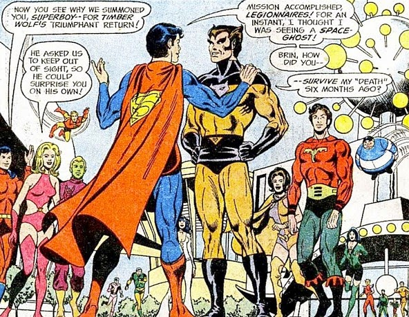 Superboy & the Legion of Super-Heroes #197, Timber Wolf
