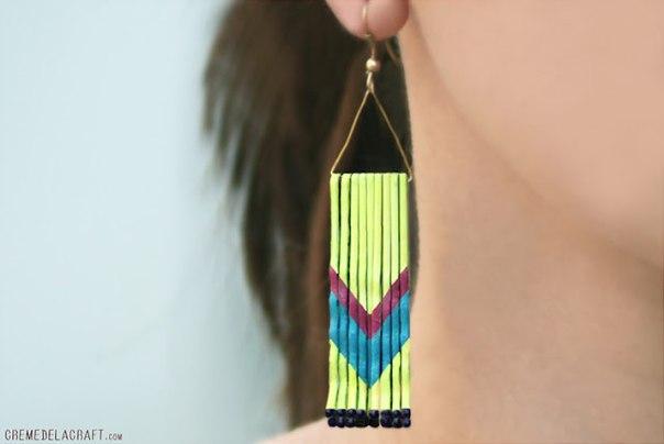 Bobby Pins earrings tutorial