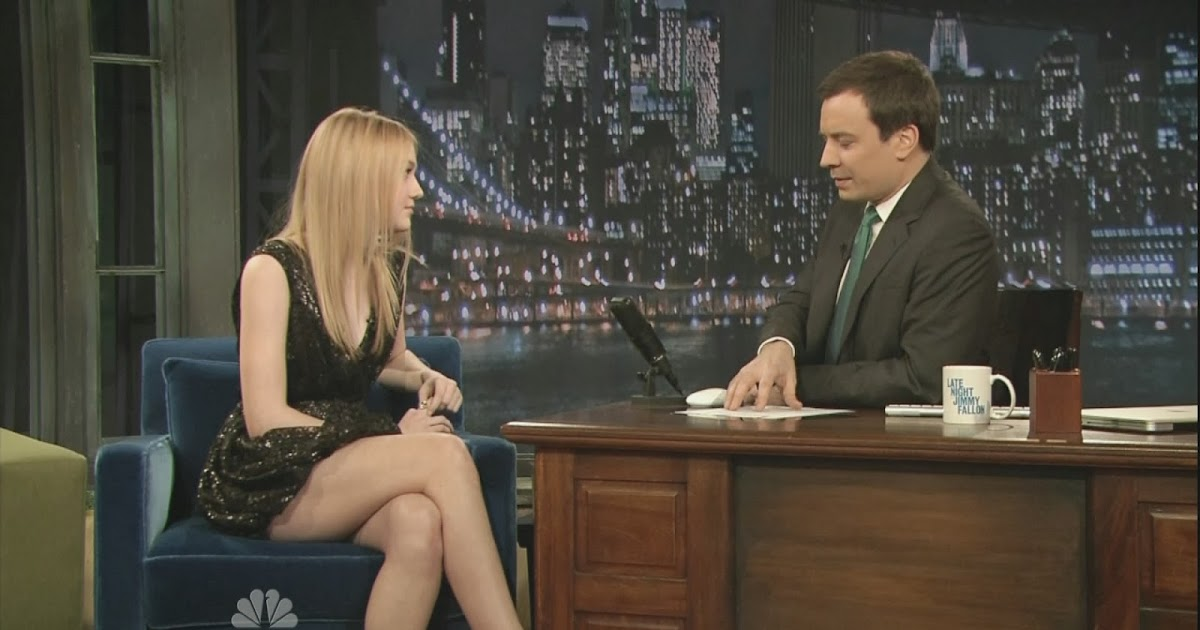 Dakota Fanning - Late Night with Jimmy Fallon (2010-03-17 ...