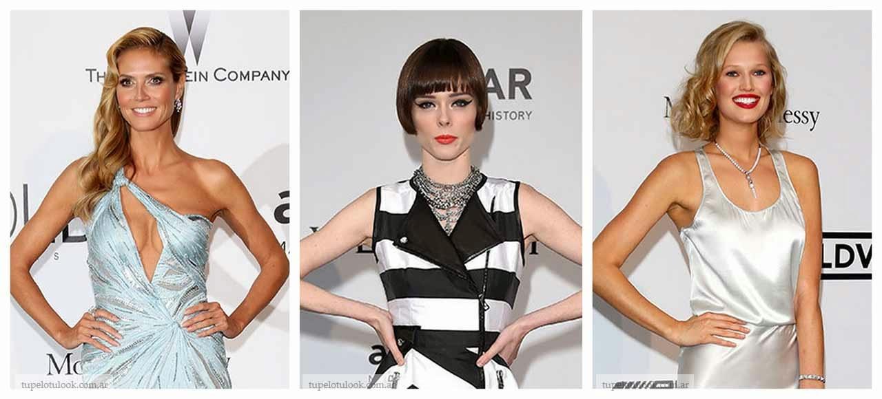peinados 2014 look gala amfar