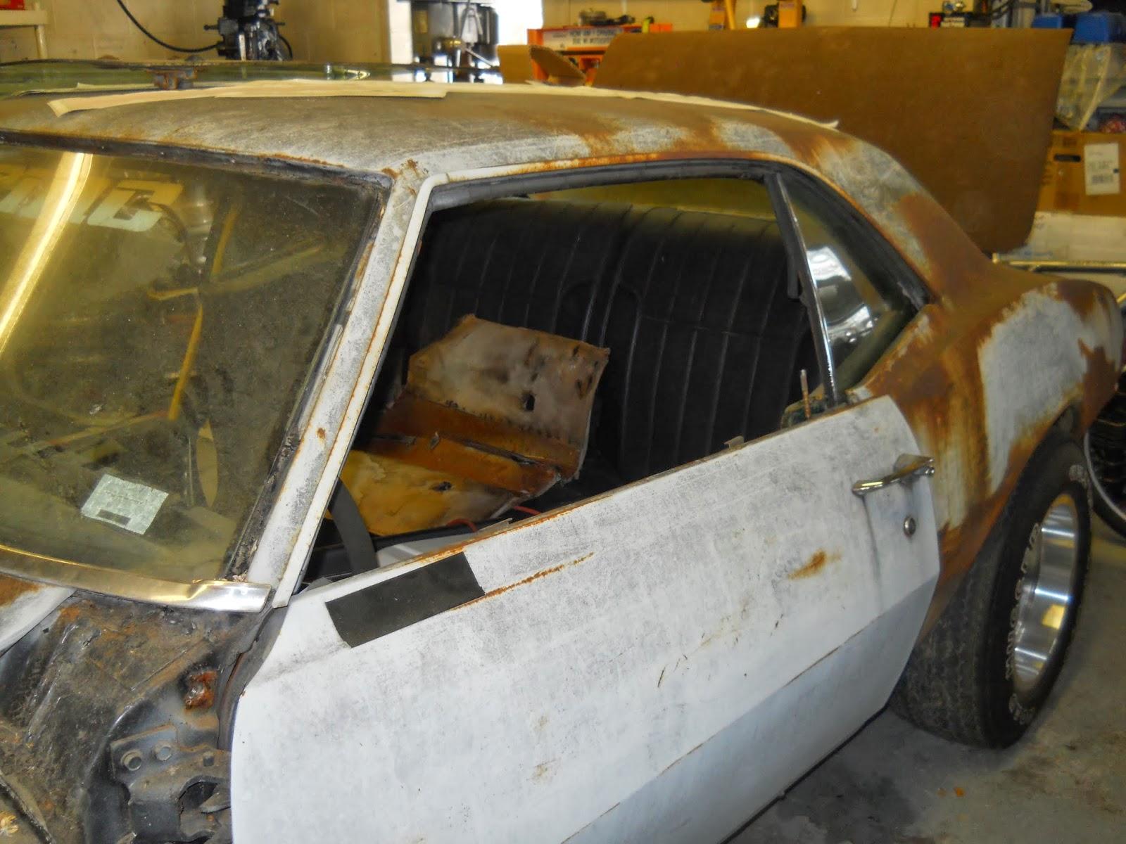 Motor City Muscle: 1968 Pontiac Firebird Update: 12/11/2013