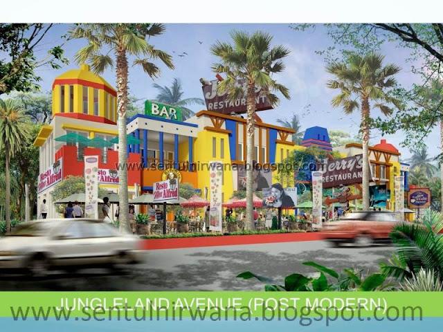 Sentul Nirwana - a fun place to live: Kanto / Commercial