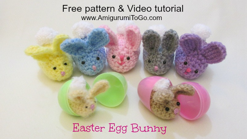 Amigurumi To Go Tutorial : Bunny video tutorial amigurumi to go