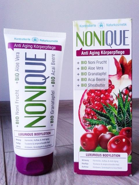 NONIQUE - balsam do ciała . Podsumowanie serii AntiAging :)