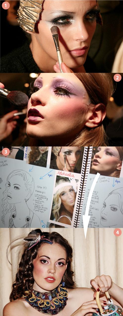 1920s makeup look. 1920s makeup look.