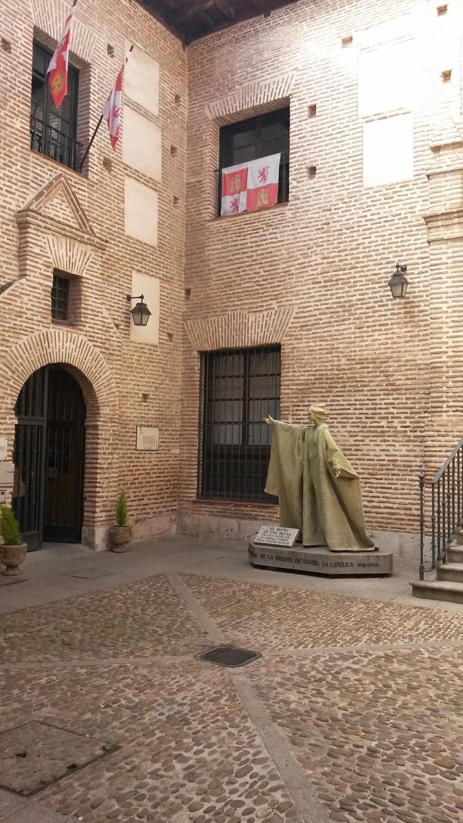 Palacio Real Testamentario, lugar dónde Isabel La Católica dictó sus últimas voluntades.