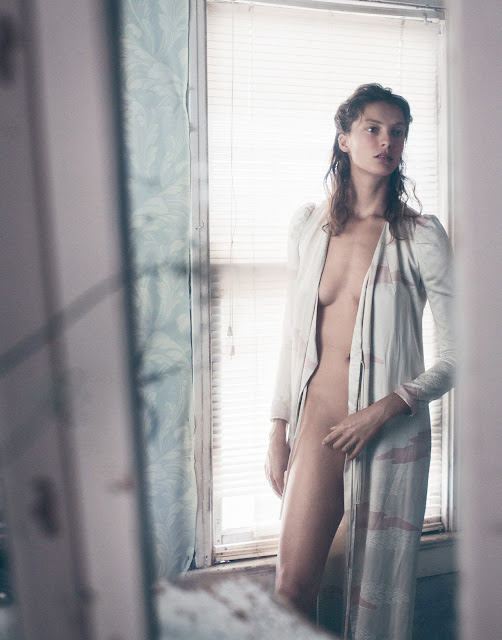 Model – Daria Werbowy Photographer – Mikael Jansson Porter Fall 15