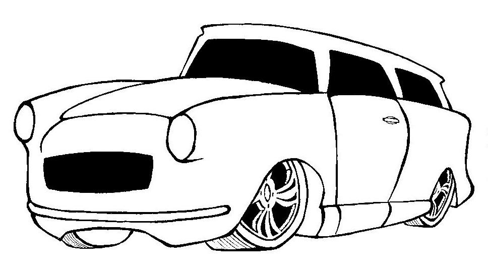 Desenhos Para Colori Esbolso de golf renalt clio uno mille desenhar