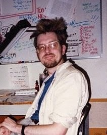 A young Peter Sanderson