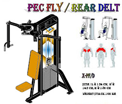 Pectoral Fly Rear Delt Black