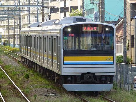 鶴見線 武蔵白石行き 205系