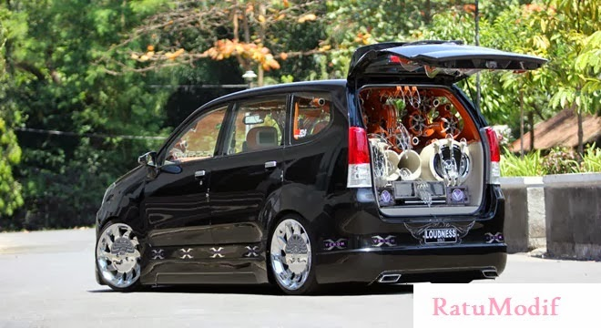 Foto Modifikasi Toyota Avanza Terbaru 2014 (Full Audio Music)