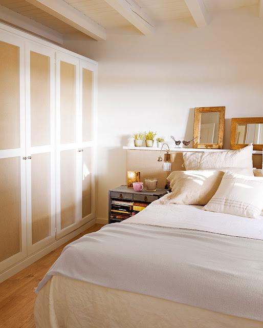 decoración de un dormitorio
