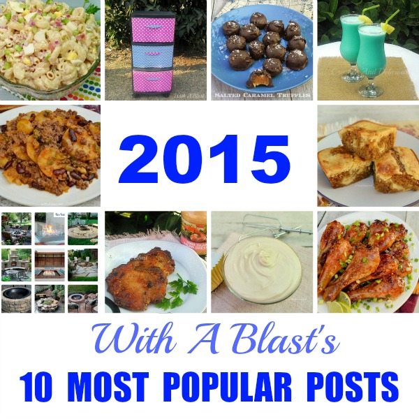 10 Most Popular Posts 2015 - With A Blast