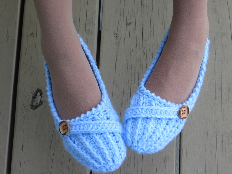 Free Crochet Patterns To Print Slipper Pattern Crochet Easy Crochet Patterns : For the Love of Crochet Along: Anne Lee Slipper Pattern