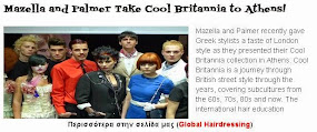 Mazella and Palmer Take Cool Britannia to Athens!